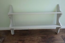 Solid Pine Shelf - Painted with Laura Ashley Dove Grey