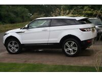 Evoque Pure SD4, same spec as the HSE DYNAMIC, panoramic roof, manual, 3 door