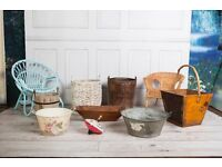 Newborn Photography Props Buckets Chairs Bowl