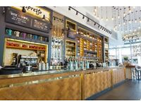 Bartender & Waiting Staff needed for stylish bar in Central London