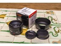 Canon EF 50mm f/1.8 II Mint condition