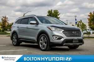 2015 Hyundai Santa Fe XL Limited. Leather. Panoroof. 3rd Row. Bl