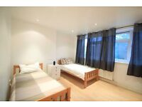 Bright XL size Twin Room in modern flat!! ALL BILLS INCLUDED!! **WEST HAMPSTEAD** ref: 38D
