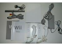 Nintendo Wii – Giant bundle, 23 Games, Wii Fit board, Guitar and Dance Matt