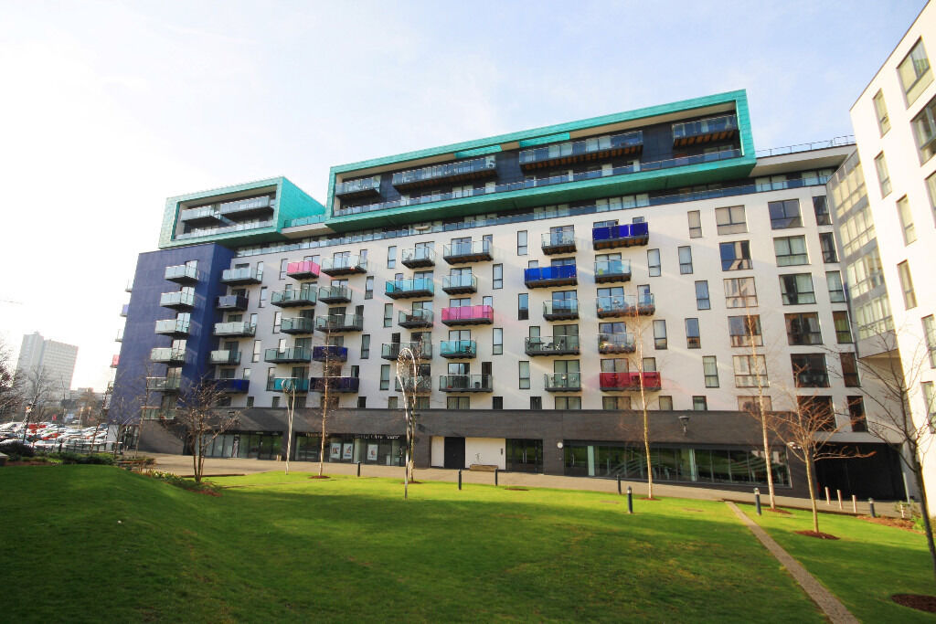 1 bedroom apartment on the 9th floor comprising lounge with modern open plan kitchen & balcony