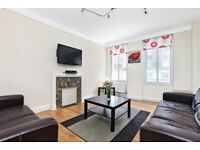 SPACIOUS FURNISHED TWO BED ROOM FLAT IN W1 !!