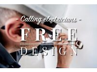 Skill swap - Free website design, graphic design for electrician