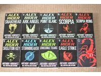 Children's reading books - Anthony Horrowitz set - Alex Rider