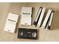6 Panasonic XD Super-VHS E-180 S-VHS Tapes for sale