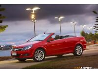 Vauxhall astra 1.8 petrol automatic, 2007, convertible Red in excellent condition hard top