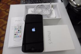 APPLE I PHONE 5 STILL IN BOX
