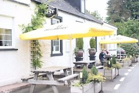 Management Couple or couple required for rural gastro pub with rooms. Immediate start