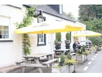 Management Couple required for rural gastro pub with rooms. Immediate start