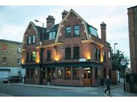 FULL/PART TIME BAR STAFF FOR BUSY STOKE NEWINGTON PUB