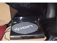 SONY PS-LX 56 AUTO TURNTABLE CAN BE SEEN WORKING