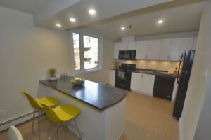 Fully Renovated 3 Bdrm  In-suite Laundry!