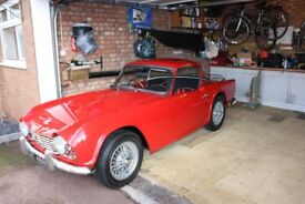 Triumph TR4 Sport 1964 Surry top and wire wheels