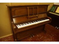 Steck upright piano in a mahogany case. Tuned & UK delivery available