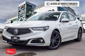 2018 Acura TLX 3.5L SH-AWD w/Elite Pkg A-Spec Red No Accident