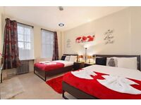 Spacious 2 Bed Apt. Seconds from Queensway Station (Central line)