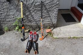 Assorted Hockey Equipment