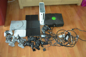 JOB LOT OF CONSOLES for SPARES or REPAIR