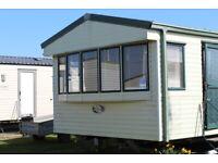 8 berth Caravan for hire on Martello Beach holiday site, Jaywick, Nr