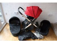Babystyle Oyster pram travel system with car seat 3 in 1 **can post**