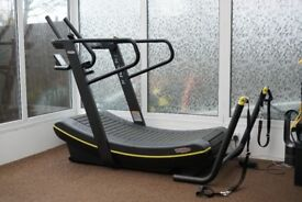 Technogym SkillMill Curved Treadmill with Console and Accessory Pack