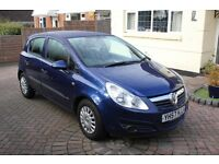 2007 VAUXHALL CORSA 1.0 LIFE 5 DOOR HATCH FULL SERVICE HISTORY CHEAP INSURANCE AND ROAD TAX VGC
