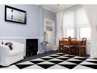 STYLISH 1 BEDROOMED FLAT - BROUGHTON £80 per Night for 2 Guests - AVAIL DEC 19-24th & from 3rd JAN