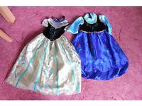2 disney frozen anna dresses 4-6 years