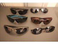 6 pairs of mens trendy sunglasses