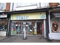 Commercial Property - retail unit.