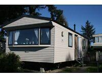 Static caravan, 6 berth, 2 bedrooms, DG, CH, fully equipped