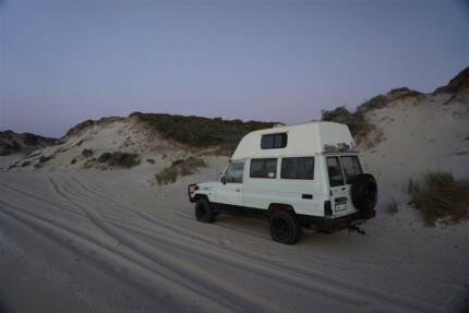 Get Troopy-cal: 1995 Toyota Landcruiser High Roof Troopcarrier West Perth Perth City Preview