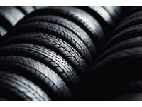 Top class branded part worn tyres appx. 130 tyres. loads of summer tyres 5/6 mm wholesale