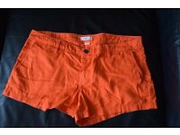 Roxy Short Short Orange