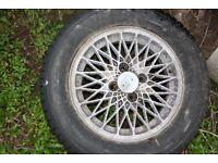5 x Porsche 924 turbo style Lattice Cast Alloy Wheel 6Jx15