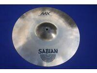 Sabian AAX X-Plosion 16 inch Fast Crash Cymbal
