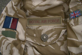 British RAF Issue Desert Pattern Windproof Combat Smock (size 170/104)