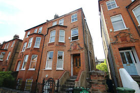 Large Four Bedroom Period Conversion With A South Facing Balcony Moments Away From Hampstead Heath