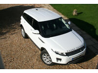 Range Rover Evoque 2.2 eD4 150bhp 6-speed manual Pure 5dr 2WD LOW MILEAGE Immaculate condition White