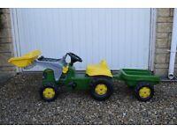 John Deer Pedal Tractor