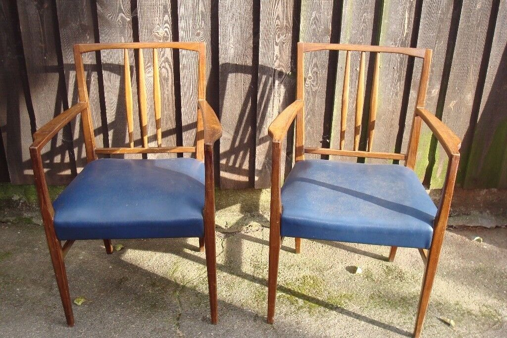 TWO CARVER CHAIRS DINING CHAIRS