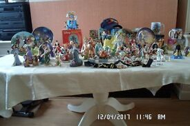 Superb collection of over 100 Disney Figurines, Plates, Mugs etc.