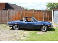 Triumph Stag, 1972, good condition with original 3ltr V8 engine.