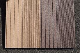 2.2m WPC Wood Plastic Composite Hollow Decking Board in Walnut / Oak Colour