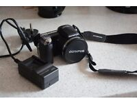 **Olympus SP-810UZ Compact Bridge Camera! 36 x zoom, 14 mp, charger and strap included.