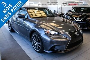 2014 Lexus IS 250 F Sport ** AWD ** Navigation ** Toit ** Nouvel